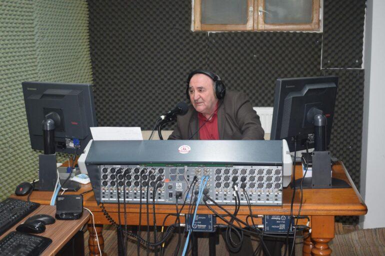 În studioul Radio Bistrița Evanghelică
